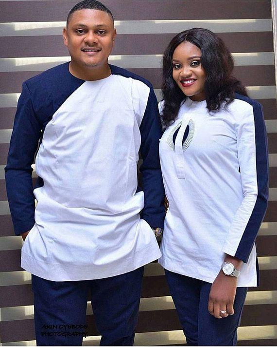 Couple V 234 Tements Africain Mens Shirt Mesdames Robe