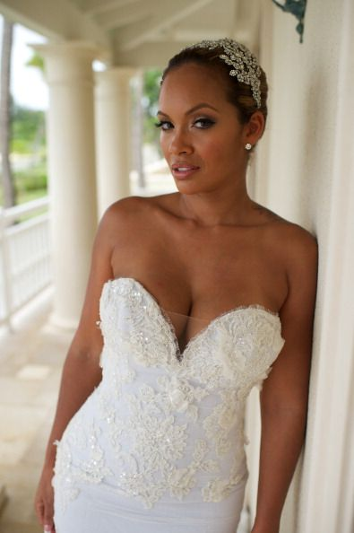 wedding dress evelyn lozada