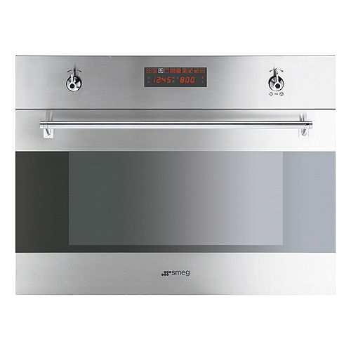 Speed Oven It S A Super Efficient Convection Oven And Microwave 1700 Smeg Built In Microwave Stainless Steel Microwave