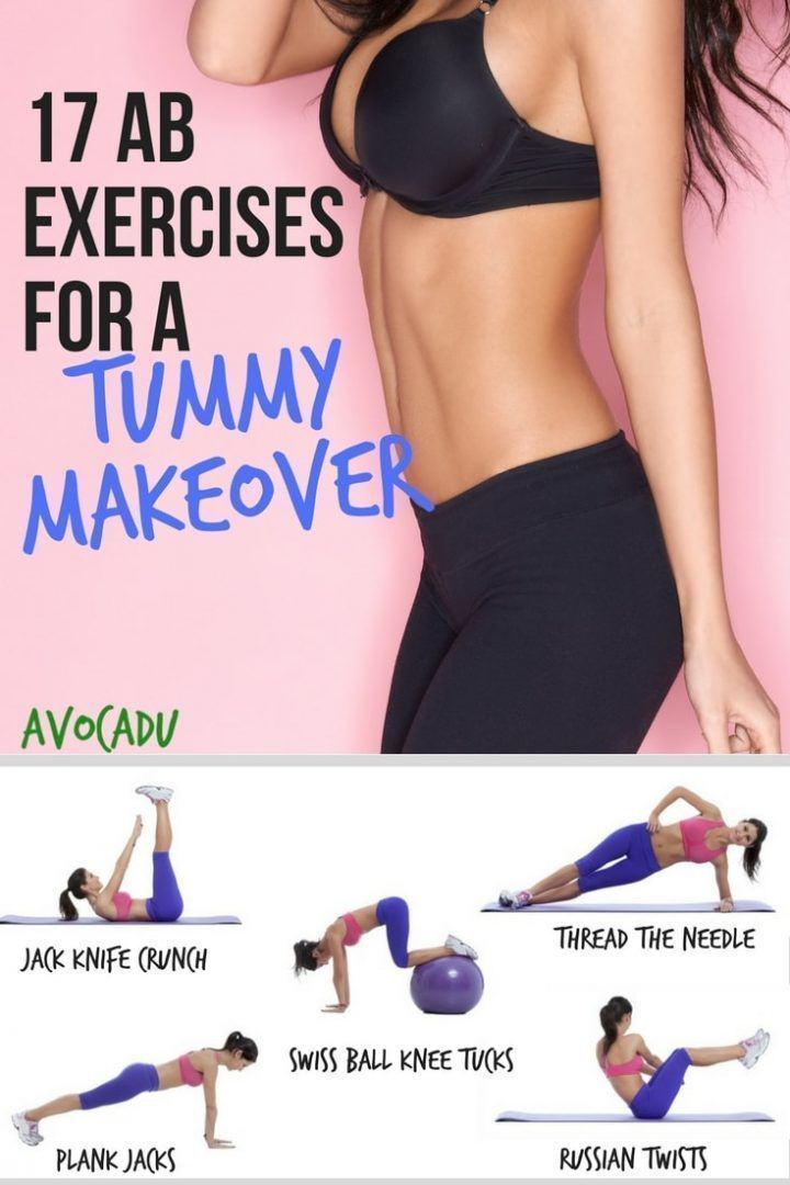17 Ab Exercises for a Tummy Makeover   Lose Belly Fat   FatBurning Ab Workouts   workout loosebellyfat exercise weightloss is part of Lose abdominal fat -