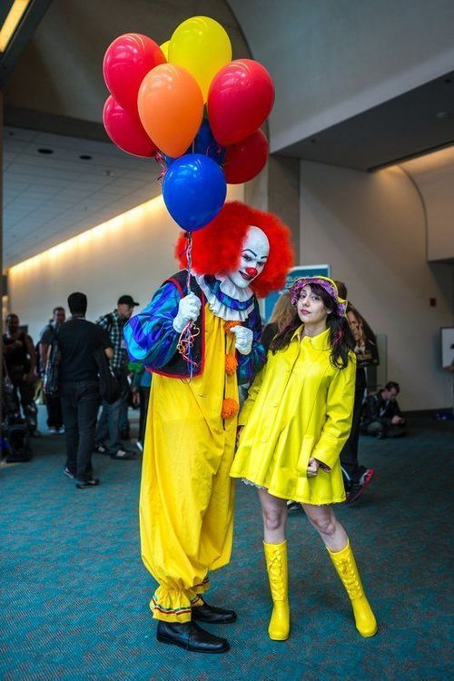 Pennywise and Georgie costume It  51ea7c83491