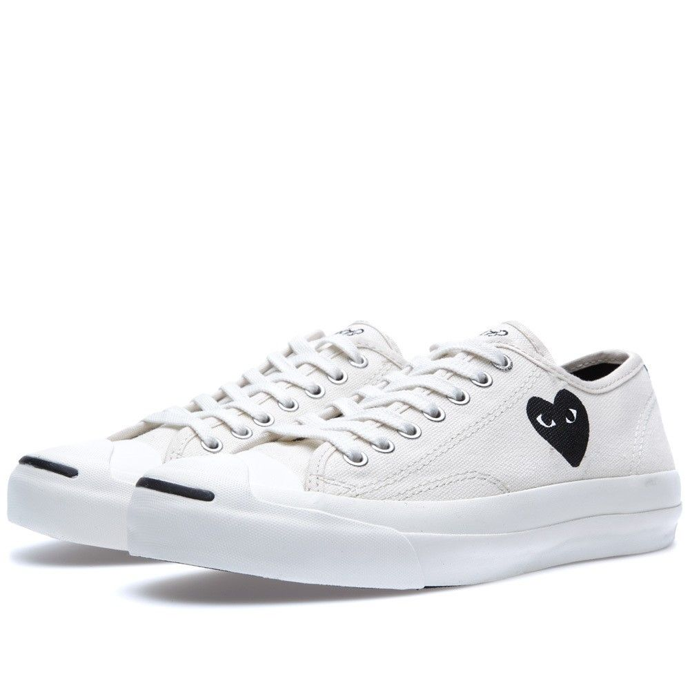 Comme des Garcons PLAY teams up with Converse to rework a