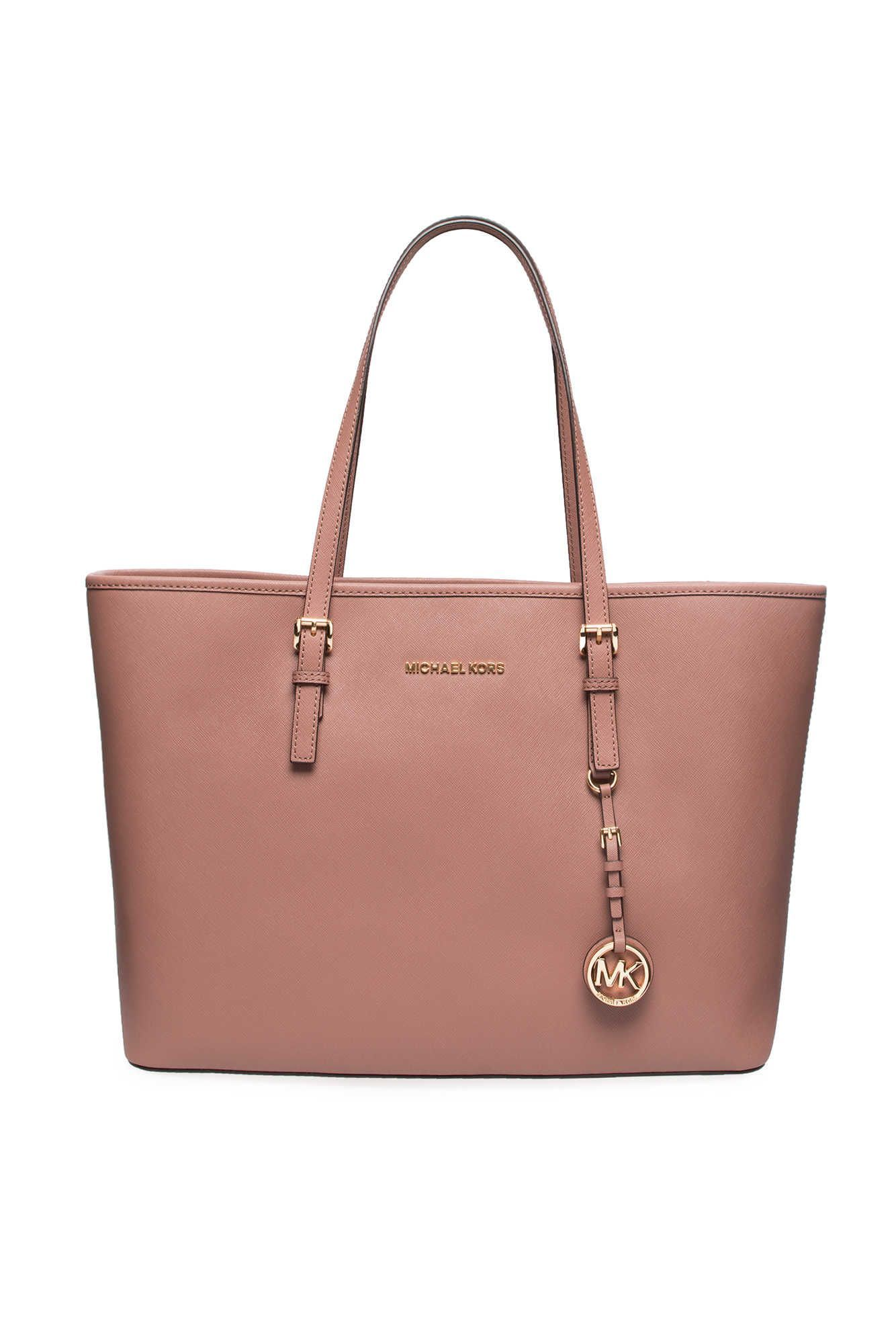 5a14042a90bb Väska Jet Set Travel MD Mult Funt Tote DUSTY ROSE/GOLD - Michael - Michael  Kors - Designers - Raglady