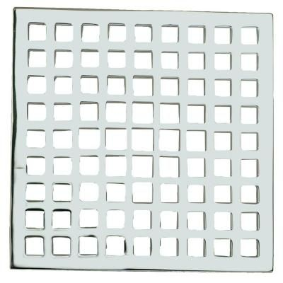 Newport Tub And Shower 6 In Decorative Shower Drain In Polished