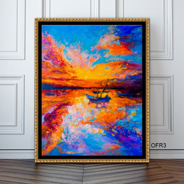 Love this gorgeous piece in this elegant canvas floater frame! The ...