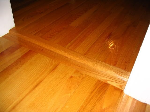 hardwood floor transitions | ... of hardwood flooring transitions with  different thickness flooring - Good Transition Between Old And New Floors My House Pinterest