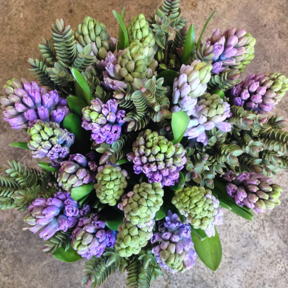 A stylish hyacinth bouquet hyacinths bouquet flowers florist a stylish hyacinth bouquet hyacinths bouquet flowers florist izmirmasajfo