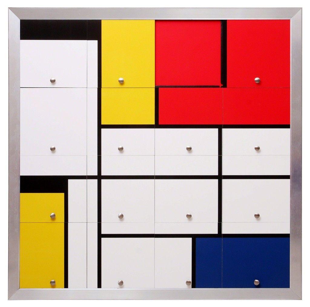 Homenagem a Mondrian I (Homage to Mondrian I) | Nelson Leirner, Homenagem a Mondrian I (Homage to Mondrian I) (2010)
