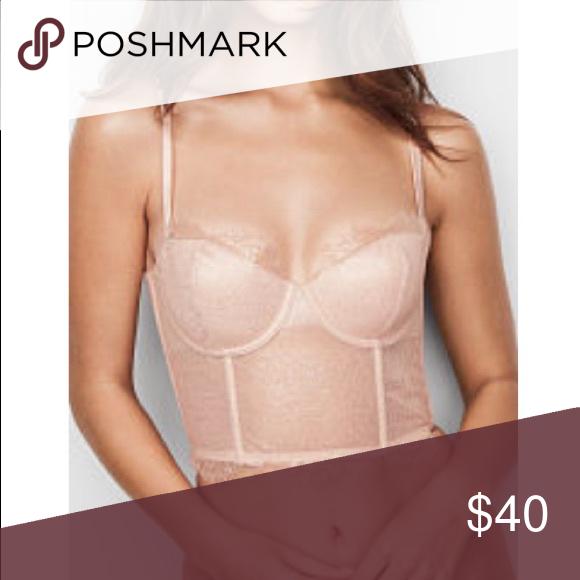 f1238caadc54c NWT Victoria secret corset bustier long line bra m New in package. Size  medium Victoria