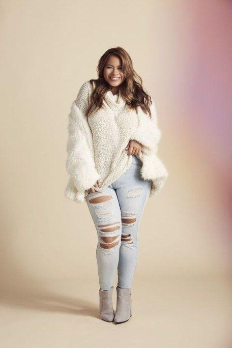 45 Fantastic Spring Street Style for Plus Size Women - dressip.com 3