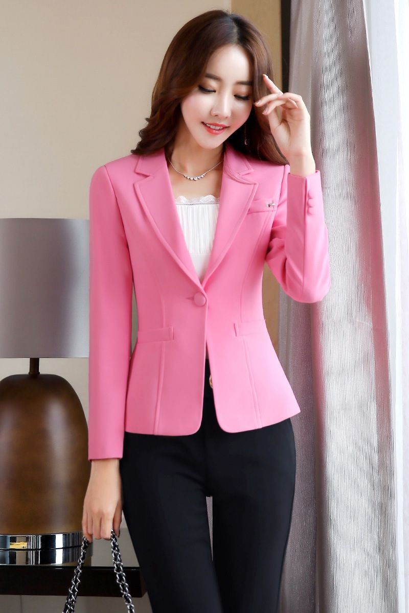 b4a3aa2029f 2017 New Arrivals Women Blazer And Jacket Ladies Business Office Suit  Jackets Female Femme Tops Casaco Feminino Inverno