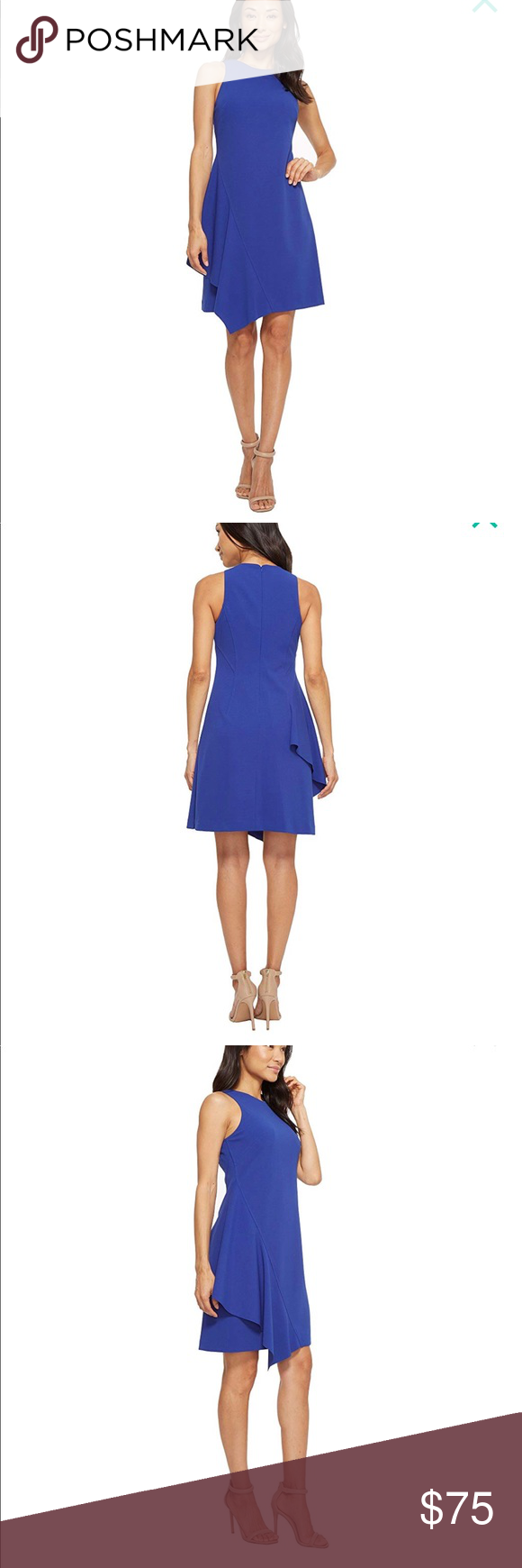 Vince Camuto Cobalt Blue Dress Nwt Size 4 Cobalt Blue Dress Clothes Design Fashion [ 1740 x 580 Pixel ]