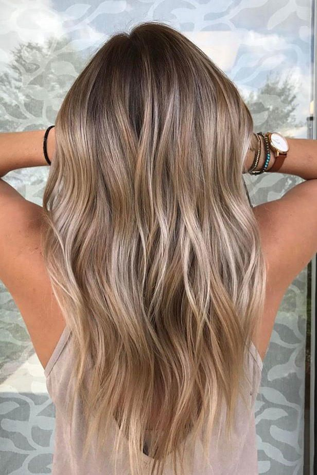 Ash Blonde With Buttery Balayage Say Farewell To Foils Forever Some Personal Realizations Occur When Sitting Under A Red Tinted Hood Of Heat And Wearing