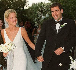 Pete Sampras with beautiful, Wife Bridgette Wilson