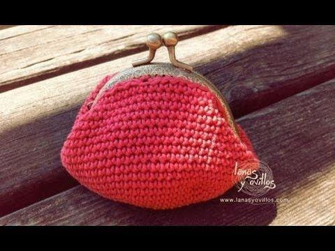 monedero vintage con cierra metalico  Small vintage coing purse