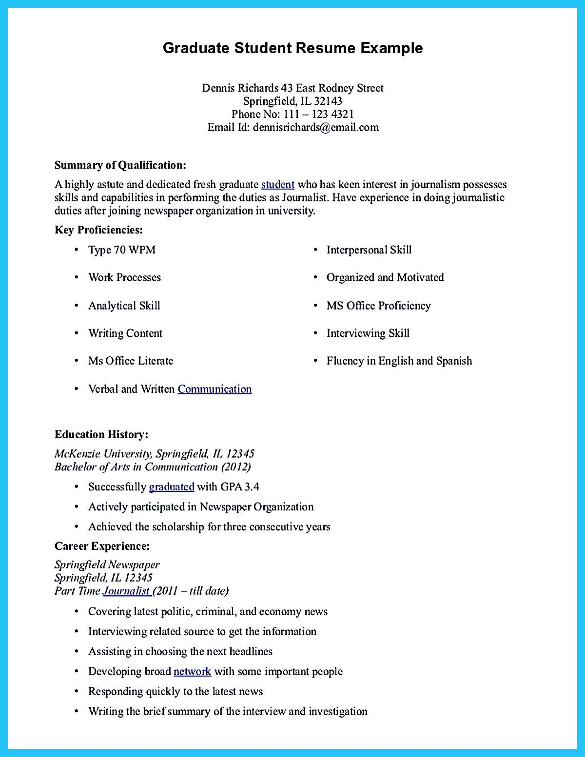 Pin On Resume Samples    Student Resume Template