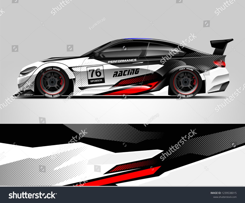 7e3f34f4a0 Sport car racing wrap design