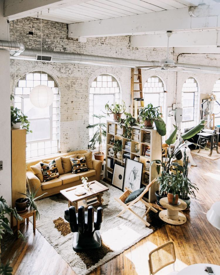 A Fabulous Vintage Inspired Loft In A Former Textile Factory My Scandinavian Home Loft Apartment Decorating Scandinavian Style Home Apartment Decor