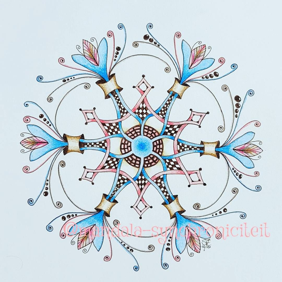Pin Op Blog Mandala Synchroniciteit