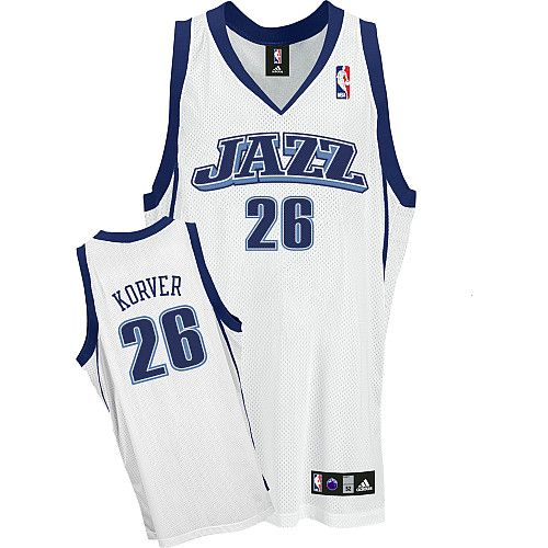 8518d4e74 ... Game Utah Jazz Kyle Korver 26 White Authentic Jersey Sale ...