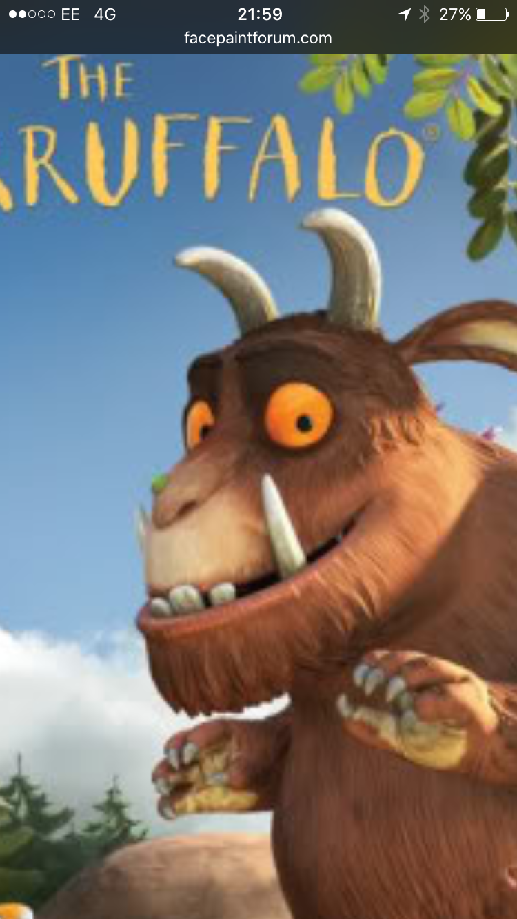 Pin by Karen CampbellBroome on Gruffalo party The