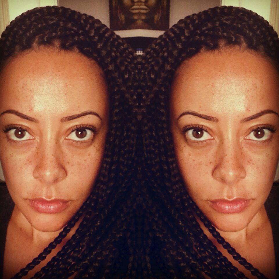 My box braids! Follow me on Instagram @lyndamoyo