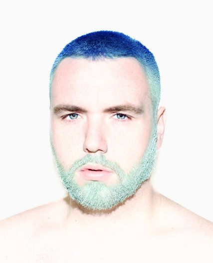 The Beard Goes Technicolor   Extreme hair colors, Extreme hair and ...