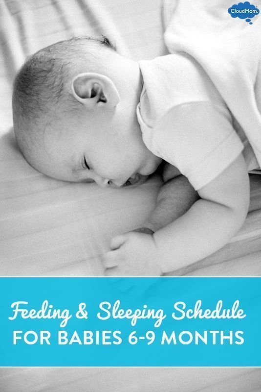 Getting your baby on a dailly schedule for eating and sleeping can - sample schedules