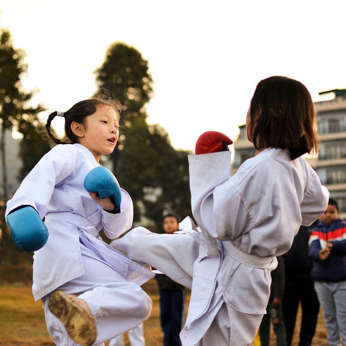Karate around the world in this world