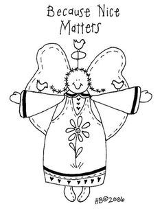 Free Primitive Embroidery Patterns | Free Primitive Everyday Embroidery…