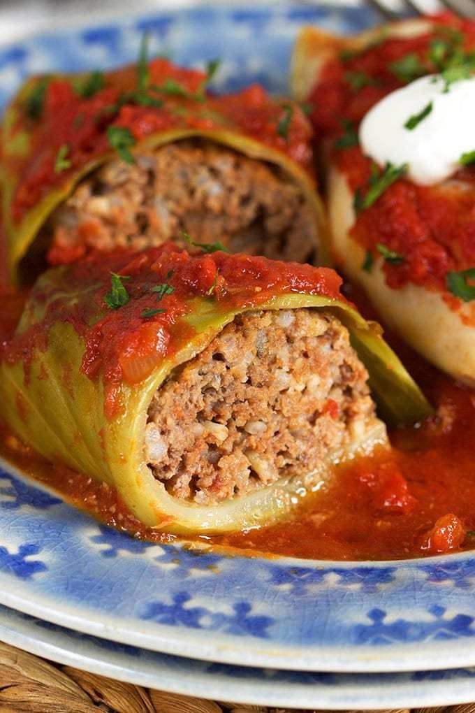 How to Make the BEST Stuffed Cabbage Rolls // Video - The Suburban Soapbox