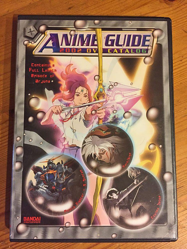 Bandai entertainment anime guide dvd 2002 w full episode