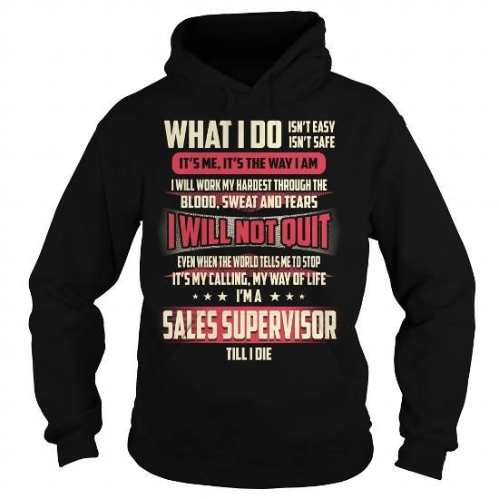 Sales Supervisor Job Title T Shirts, Hoodies. Check price ==► https://www.sunfrog.com/Jobs/Sales-Supervisor-Job-Title-T-Shirt-Black-Hoodie.html?41382