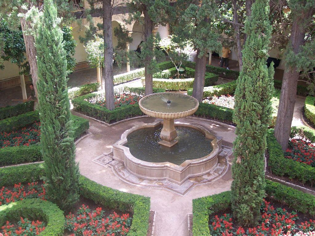 Jardines de la alhambra jardines pinterest jardines - Residencia los jardines granada ...