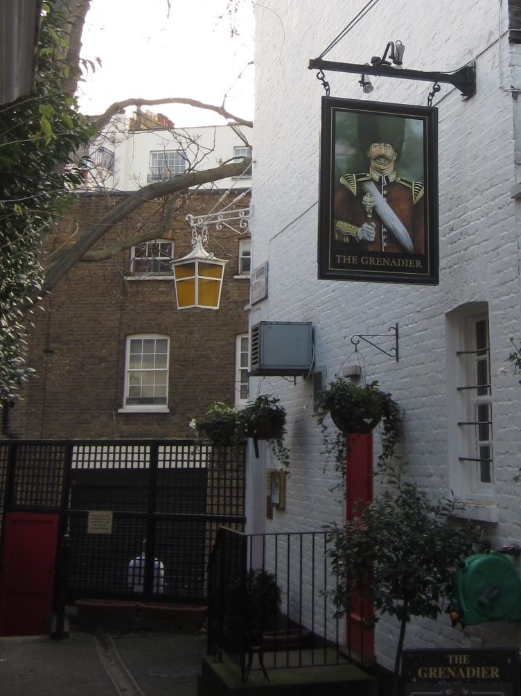 The Grenadier, Wilton Row.