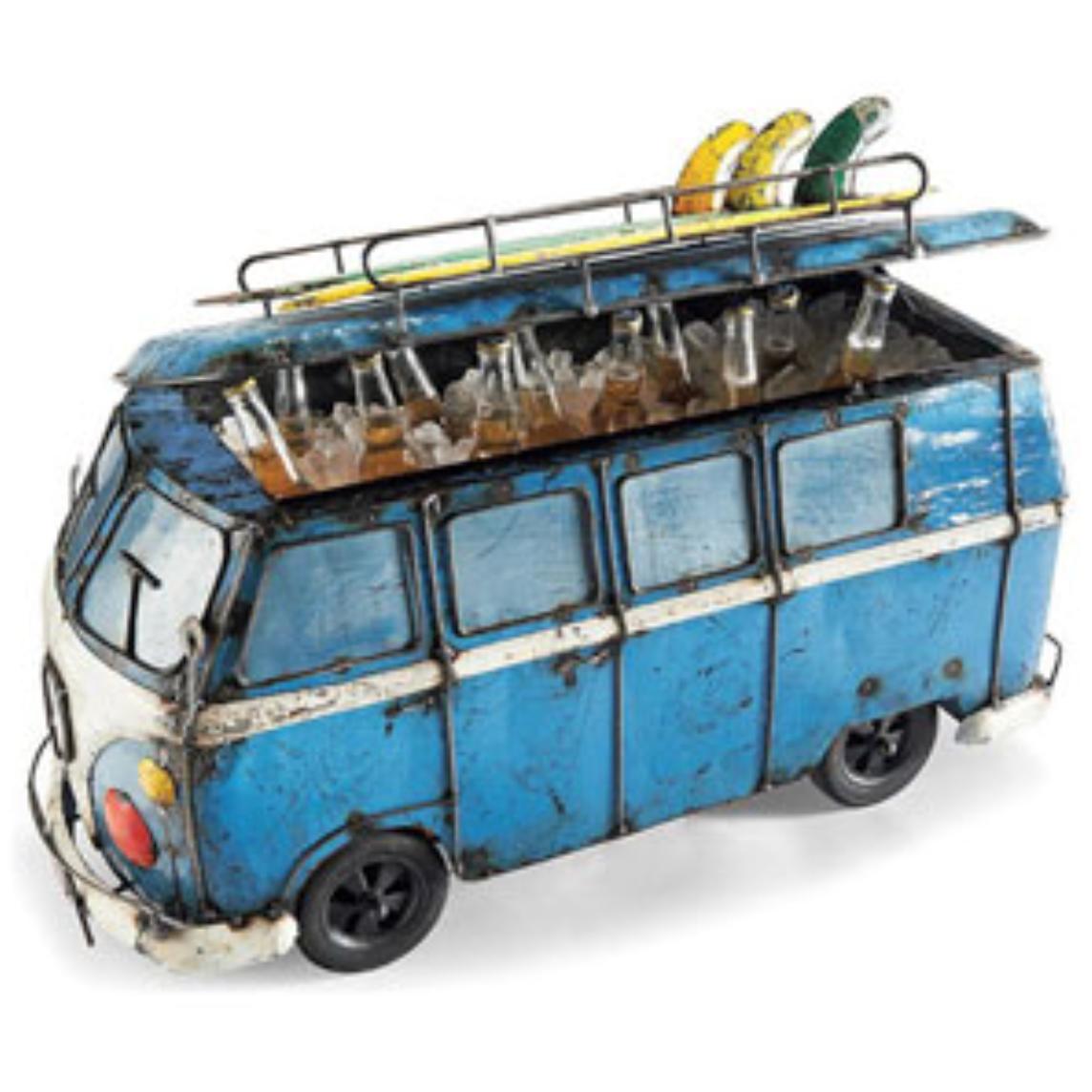 Vw Bus Cooler Beach Fun Beverage Tub Vintage Vans