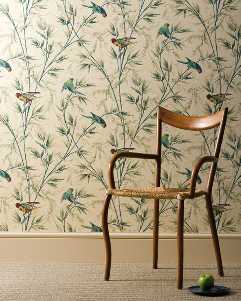 Bird Wallpaper - Victorian Bird Wallpaper