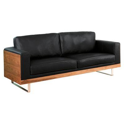 Dwell Firenze Sofa 1499 Furniture Leather Black