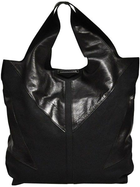 Suede Tote with Leather Handles - Lyst. Shopping BagsHand BagsGivenchyBig  ... d2b5f4ef78