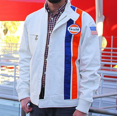 GULF HISTORIC STYLE RACING JACKET This officially licensed Gulf jacket  features…