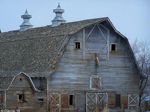 Beautiful Old Barn in Southern Idaho   .....rh