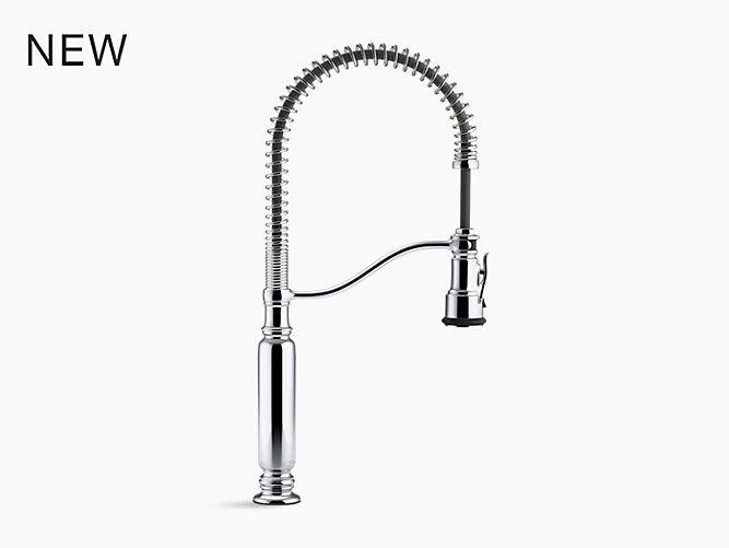 K 77515 Tournant Semi Professional Kitchen Sink Faucet