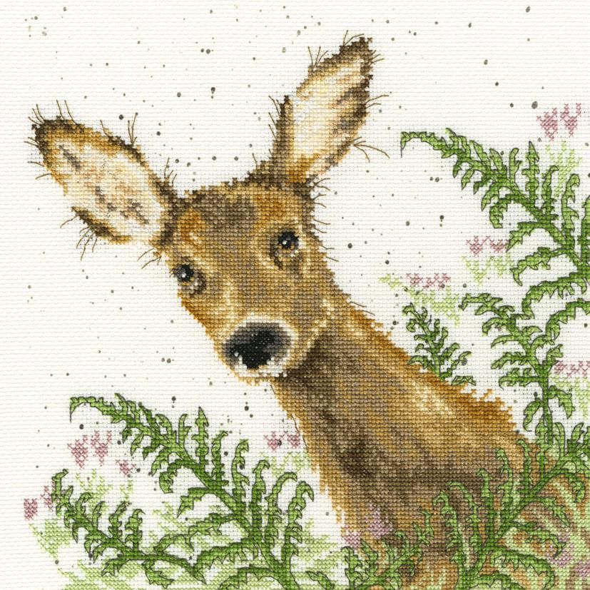 Bothy Threads ~ Counted Cross Stitch Kit ~ Ducks /& Daffs ~ XHD6