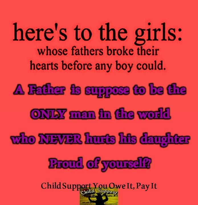 A Father Should Never Break A Daughters Heart Like Us On Facebook