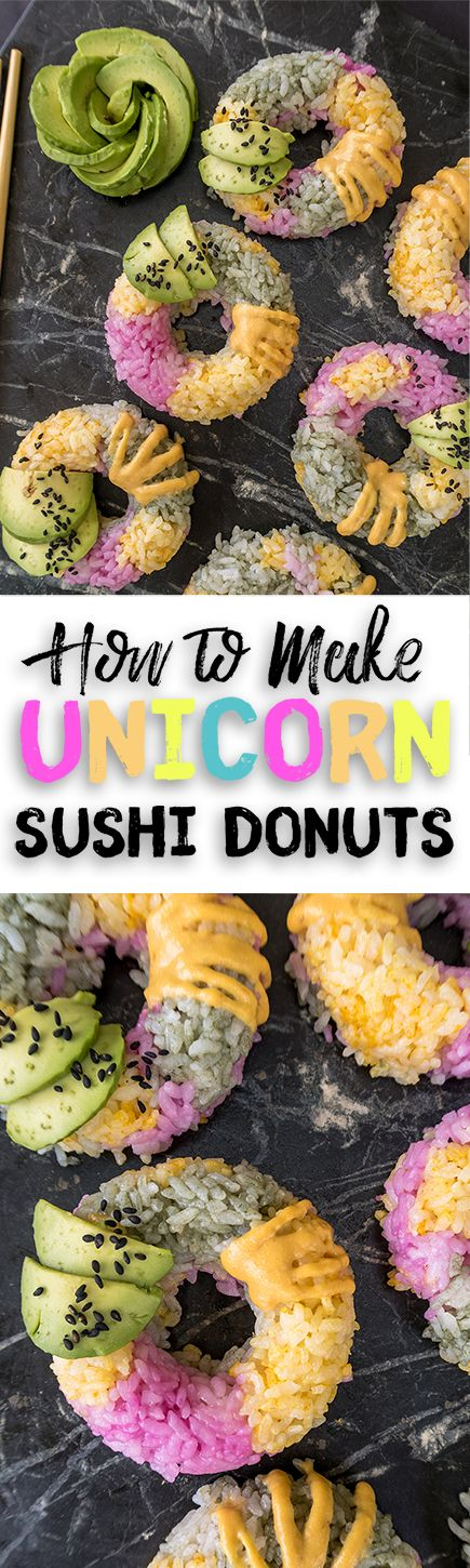 How to make unicorn sushi donuts recipe video recipe donut how to make unicorn sushi donuts recipe video forumfinder Choice Image
