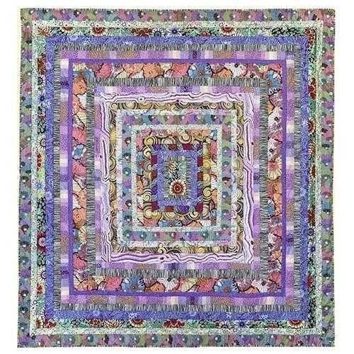 Kaffe Fassett S Stone Log Cabin Quilt Kit Kaffe Fassett Quilts Quilt Kits Quilt Patterns