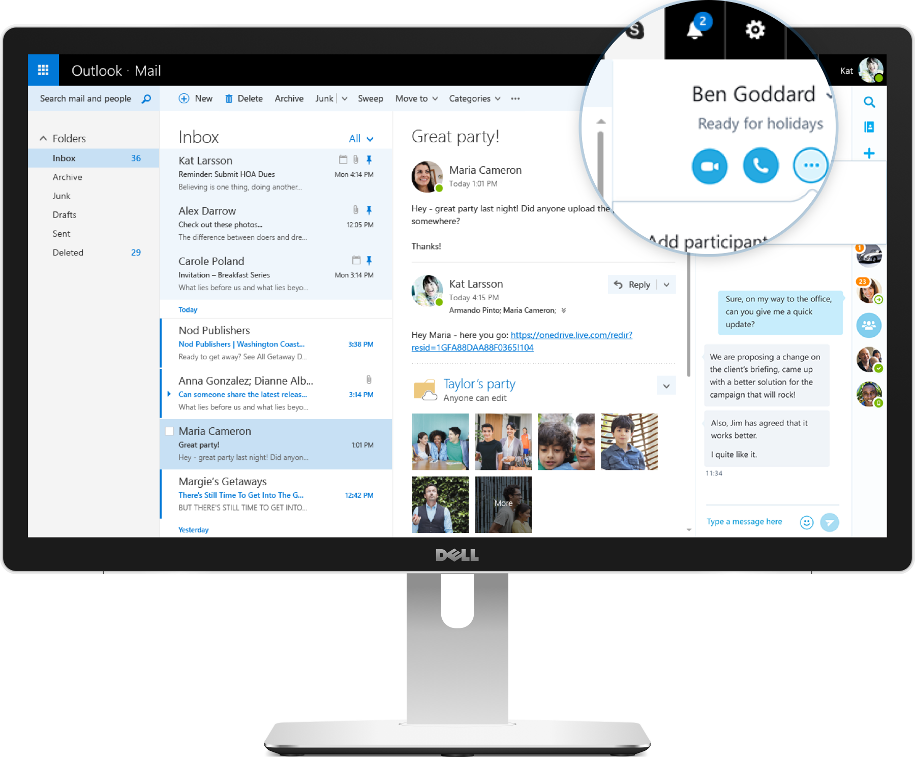 Outlook.com ofrece una integración con Skype excelente. | pc ...