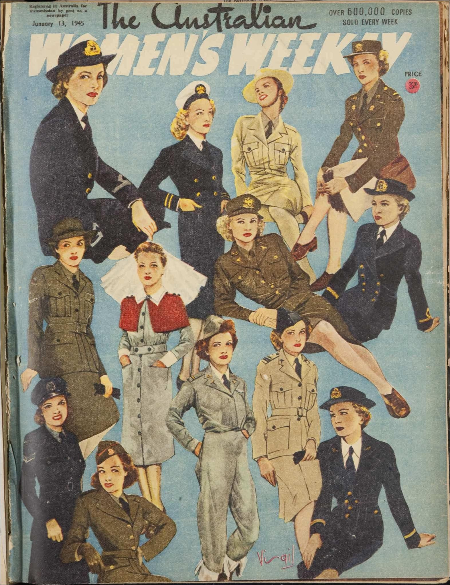 Poster Reproduction Vintage Womens Magazine Cover Womans Own