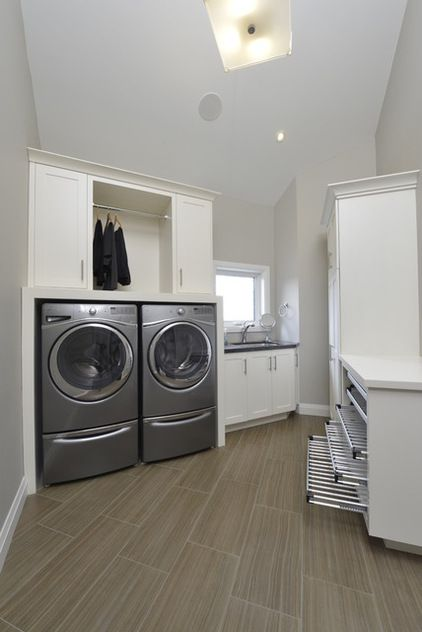 Contemporary Laundry Room By Lindsay Construction Services