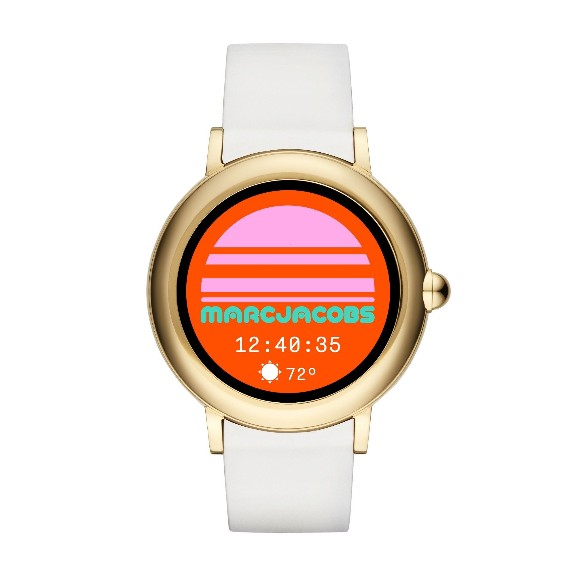 fb788b38b179 Marc Jacobs Smartwatch - Riley Touchscreen Gold